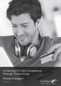 Achieving PCI DSS Compliance Through Outsourcing - Where to begin